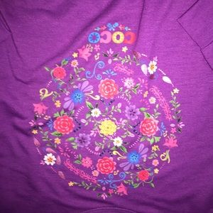 Disney Shirts & Tops - Disney D-Signed Coco Embellished Tie Front Top